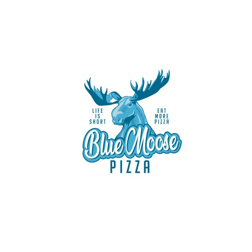 Bold logo for pizzeria