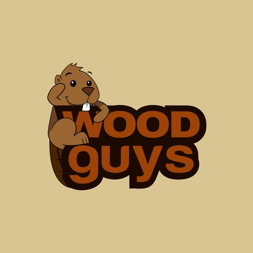 logo for Wood Guys