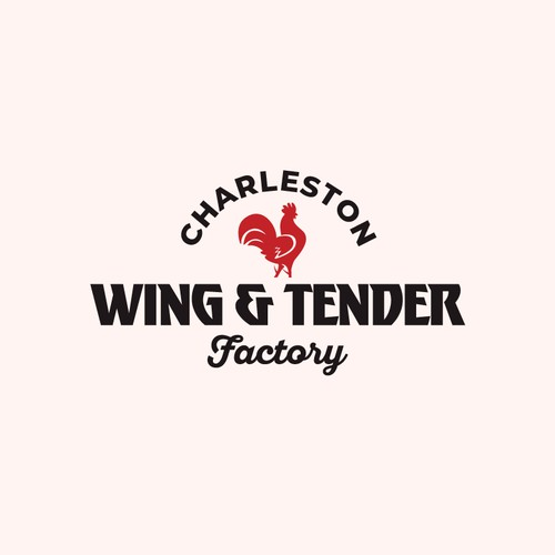 Wing and teder restaurant logo.