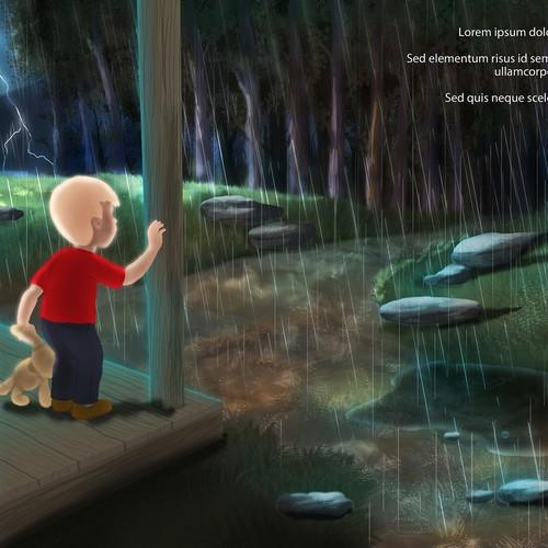 Illustrate a children's book