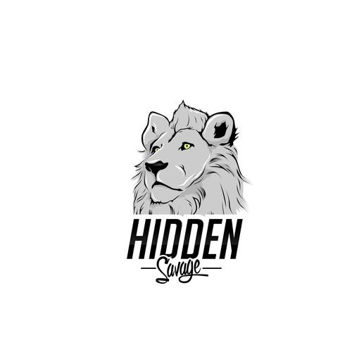 lion designs for hidden savage