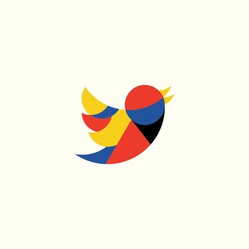 Bauhaus style Twitter