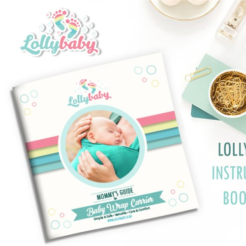 Booklet/Instruction manual for Baby Wrap