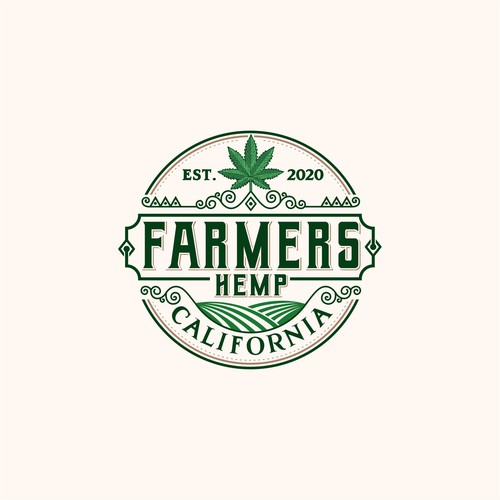 LOGO FARMERS HEMP