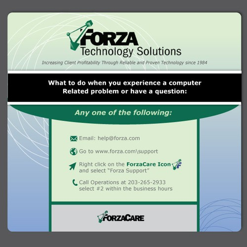 Forza Mouse Pad + Business Card