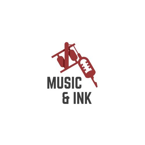 Logo For Music Ink