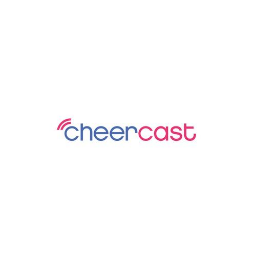 Cheercast logo concept