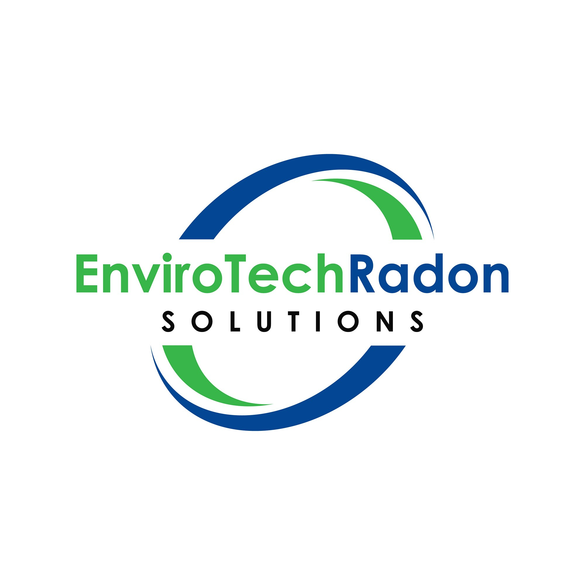 Logo and hosted website for a Radon company