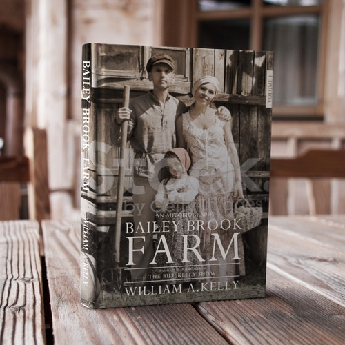 """Bailey Brook Farm"" Cover Design"