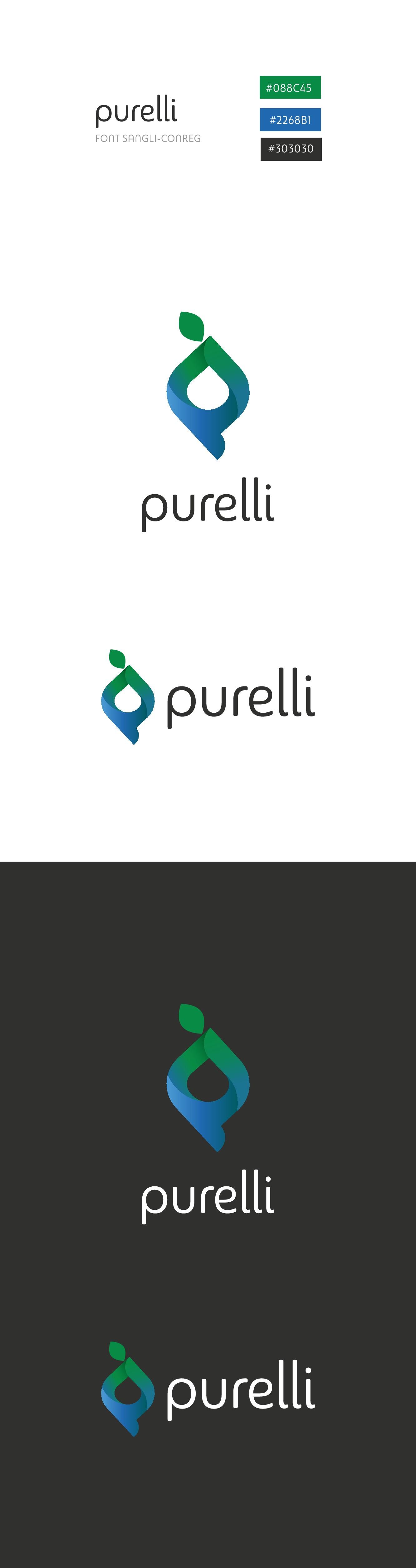 Purelli Logo Design