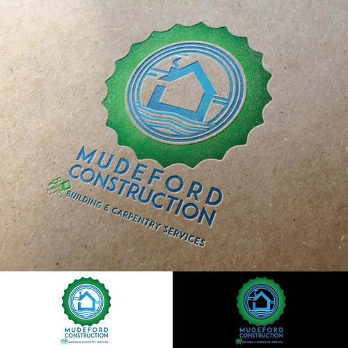 Logo for building construction contractors