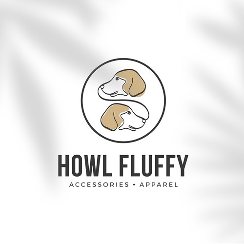 LOGO CONCEPT FOR HOWL FLUFFY