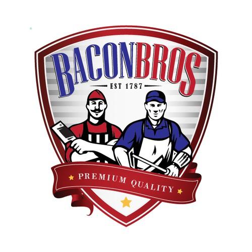 Classic logo - Bacon Bros