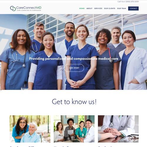 Informational Website design for the Healthcare Industry