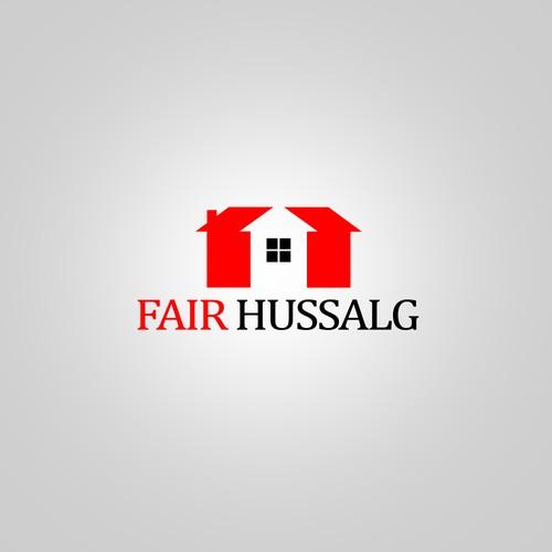 Design a logo for Fairhussalg (real estates)