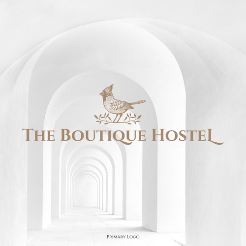 Logo design for The Boutique Hostel