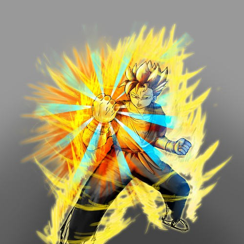 Goku Design Reference for Super Human Product