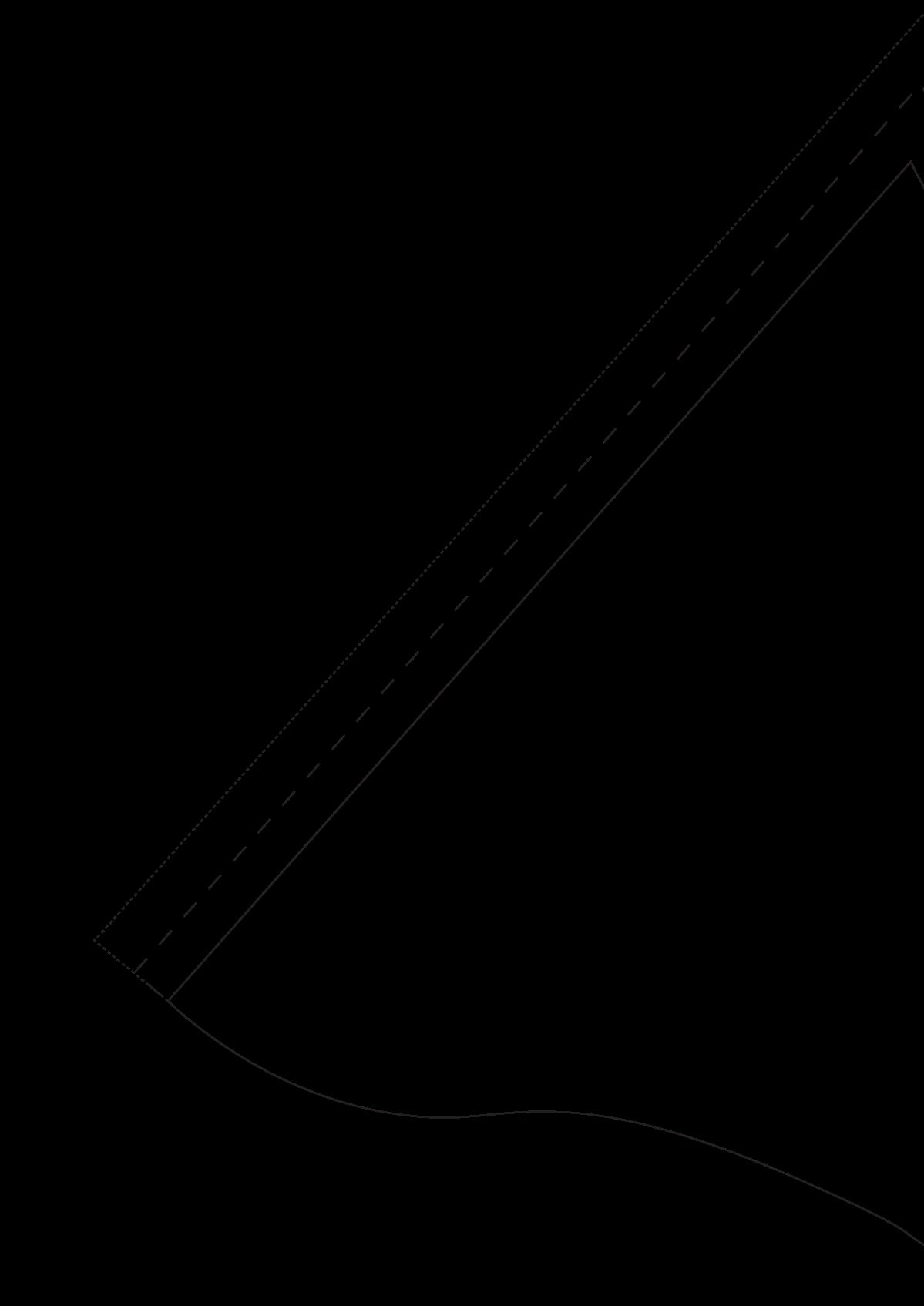 Mermaid tail sewing pattern