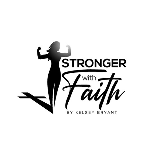 Strong Fitness Logo for Women with Christian Foundation