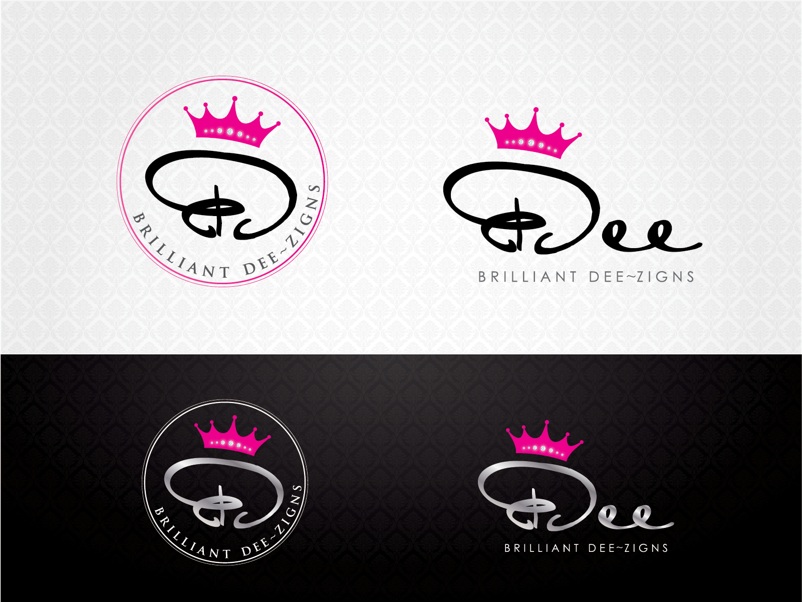 Be the shining designer for logo of Brilliant Dee~zigns!