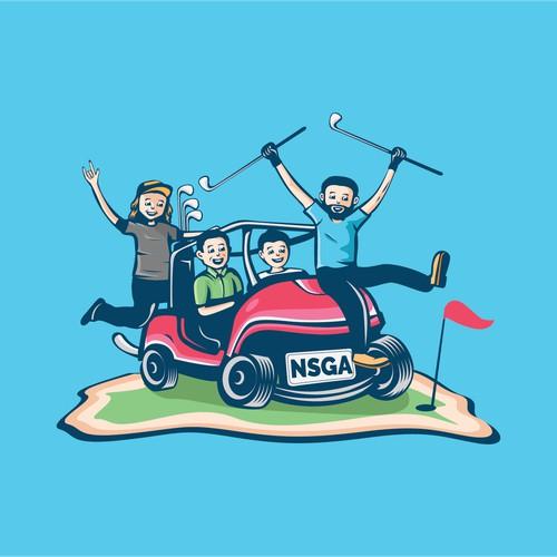 Concept logo for Nsga