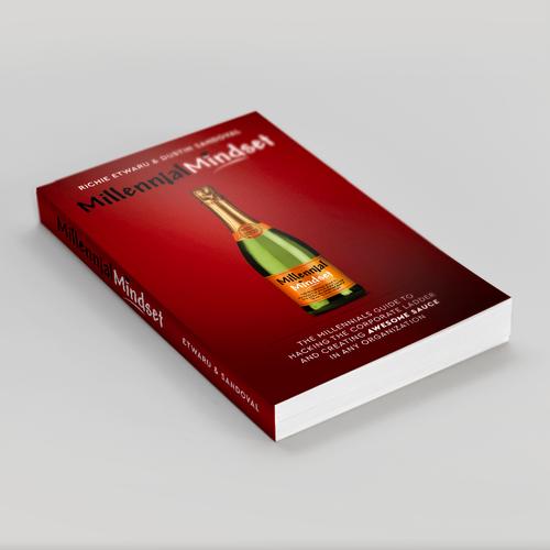 Winning concept using bottle illustration
