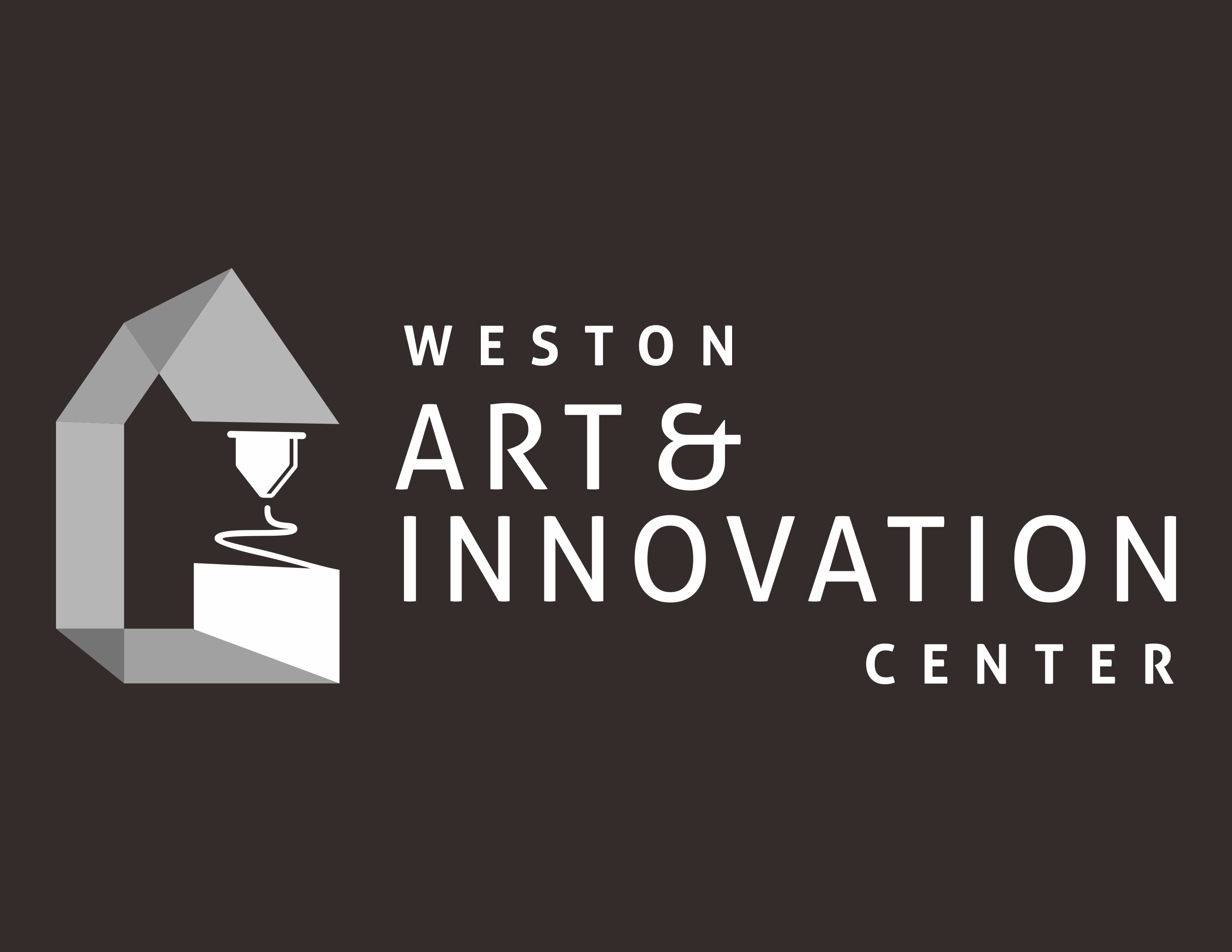 Design a logo for the Art & Innovation Center that combines creativity and curiosity