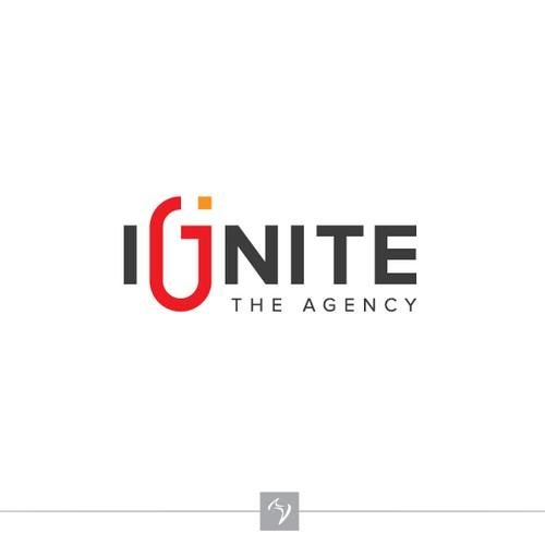 Bold logo concept for Agency