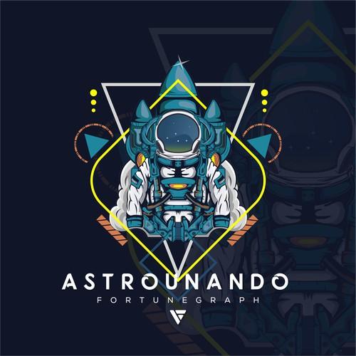 Astrounaut futuristic