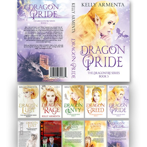 Fantasy Fiction Cover Concept