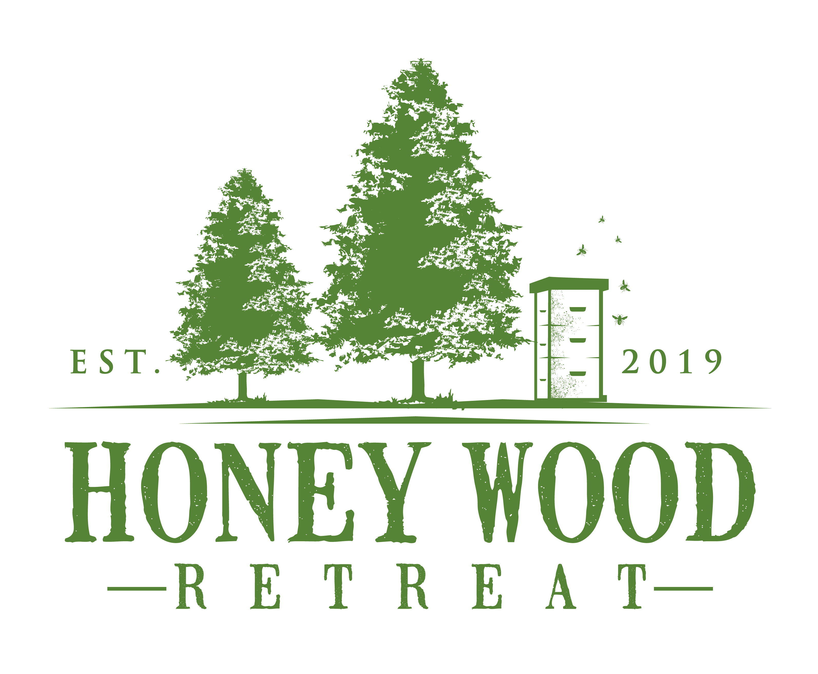 Outdoorsy Logo for Rustic Retreat