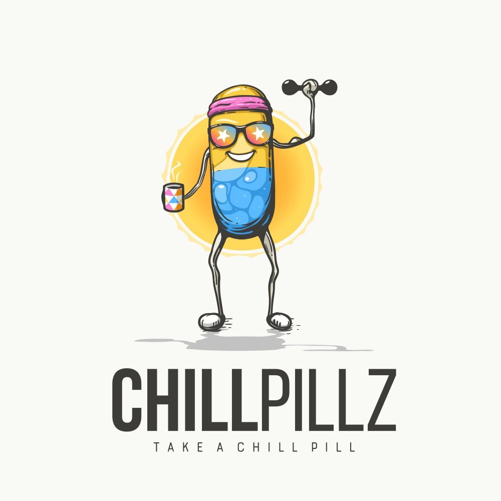 Chill Pillz logo's