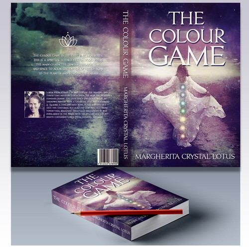 "Cover design for the book ""The Colour Game"""