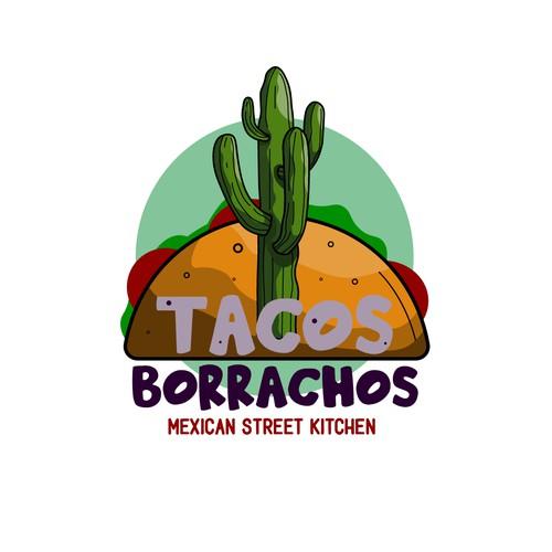 Tacos Borrachos - Logo design