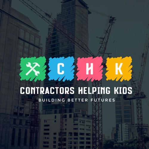 Contractors Helping Kids Logo
