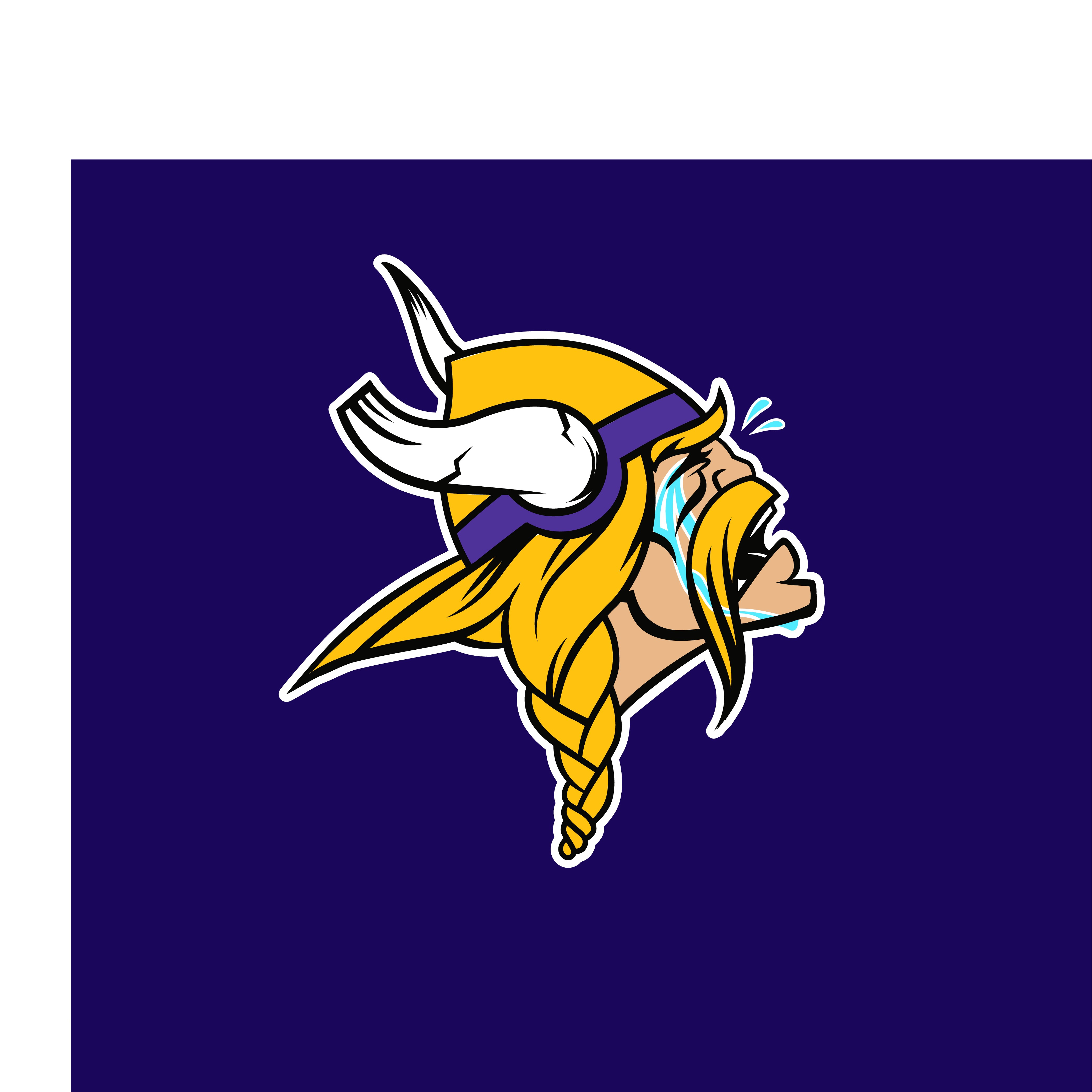 Create the first of a series of NFL parody logos