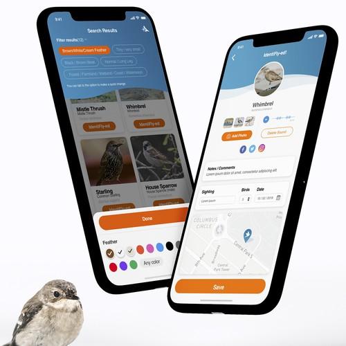 App for bird spotters