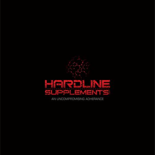 BodyBuilding Website Logo: Hardline Supplements.com