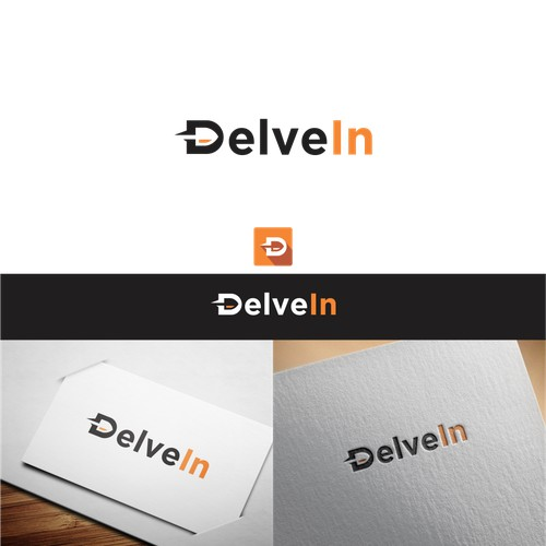 logo concept for Delve In