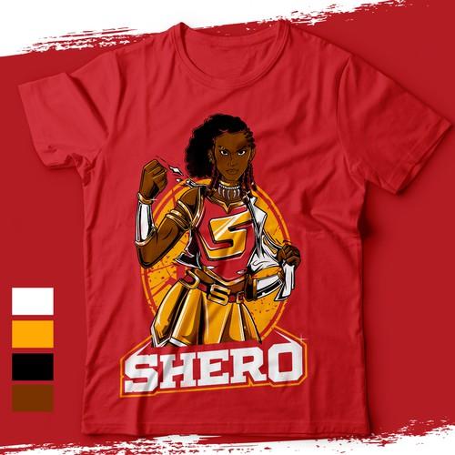 Character Design Black Woman Superhero