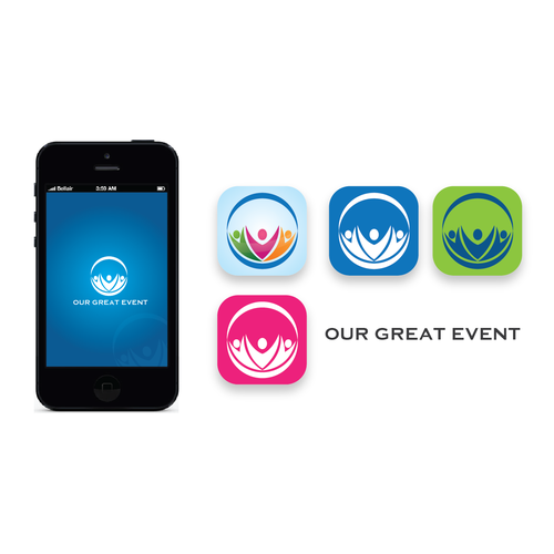 Looking for creative logo for our Mobile App that features Event Sponsors.