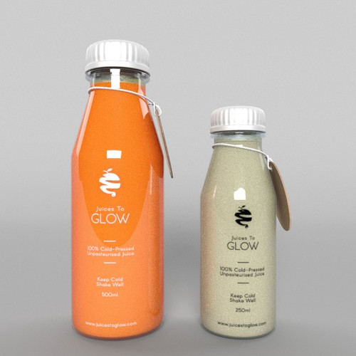 Cold Pressed Juices Packaging Label
