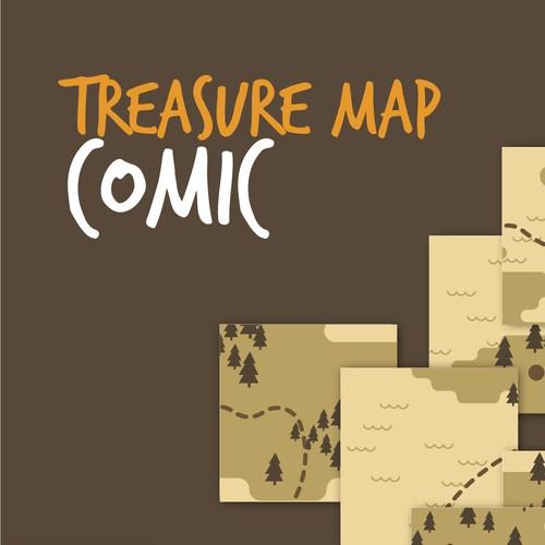 Treasure Map Comic