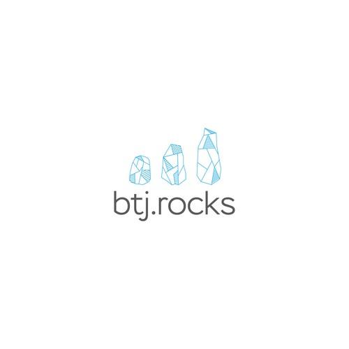 logo conceps for btj.rocks