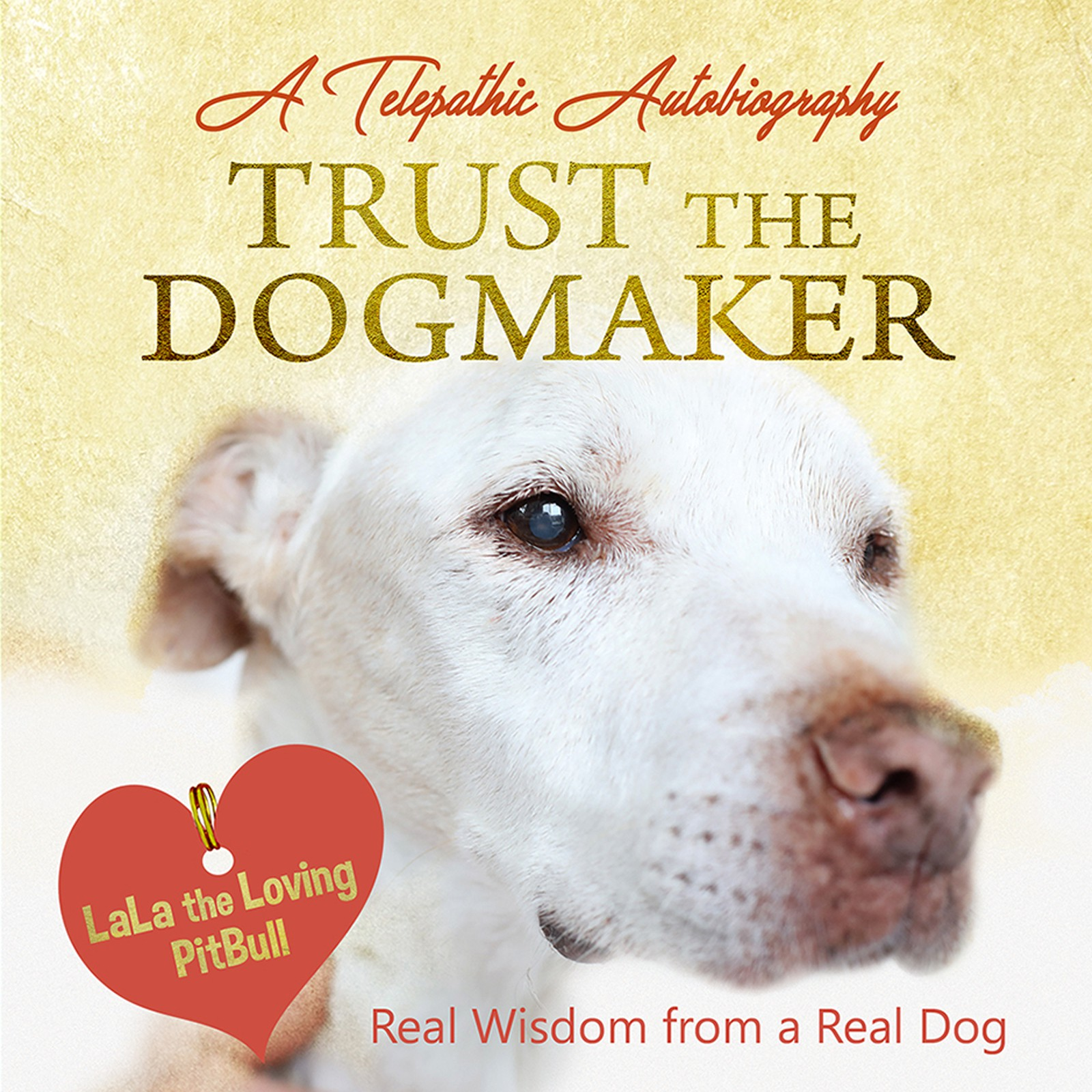 Design the cover of the first ever REAL autobiography by a REAL dog!