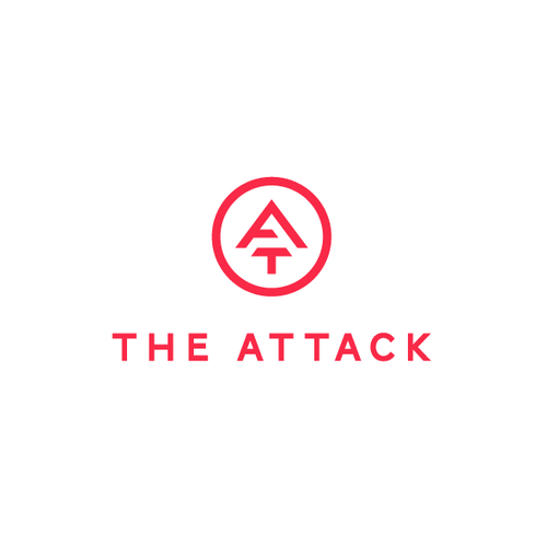 Monogram Logo Design for The Attack