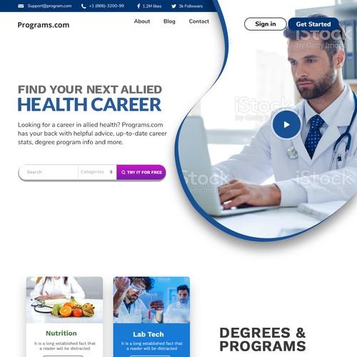 Health Career Website