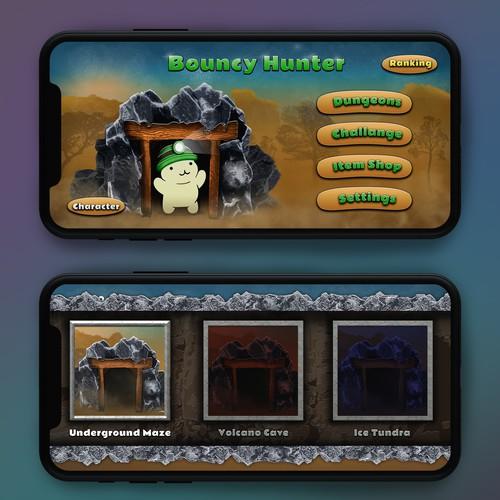 Bouncy Hunter Mobile Game Design