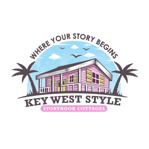 Key West Style Storybook Cottages