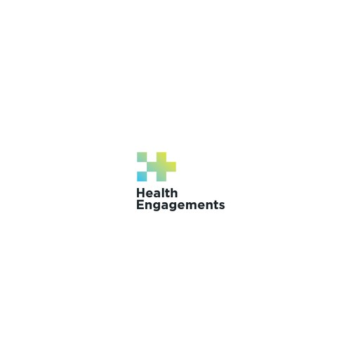 A modern and innovative logo for a healthcare management company.